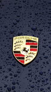 singer porsche iphone wallpaper iphonepapers com iphone 8 wallpaper ax14 porsche logo emblem car