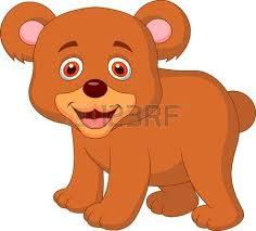 imagenes animadas oso bebé lindo oso de dibujos animados personaje blanco 3d