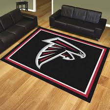 atlanta falcons nfl team logo rug football pinterest falcons