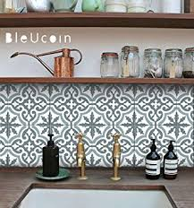 amazon com moroccan blue dusk tile stickers kitchen and bathroom