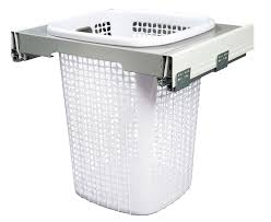 thin laundry hamper klh5560 kimberley concealed pull out laundry hamper