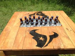 Patio Table Beer Cooler Man Cave Must Haves Beer Cooler Coffee Table Everyjoe