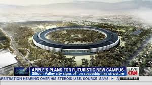 apple unveils plans for u0027spaceship u0027 hq cnn video