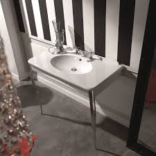 ws bath collections retro 1049 wall mounted bathroom sink with