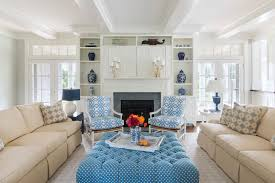 Living Room Built In Living Rhode Island Beach Cottage With Coastal Interiors Home Bunch