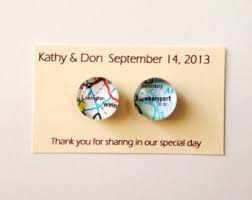 Map Favors by Map Wedding Favor Etsy