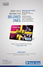 bank gift cards bank asia gift card ads of bangladesh