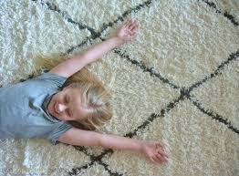 marrakesh natural shag rug two thirty five designs
