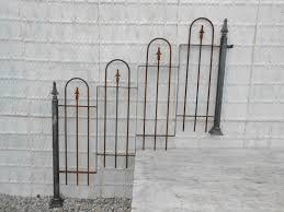 Wrought Iron Decorations Home by Wrought Iron Fencing Painted Black