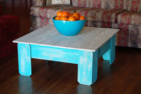 unique distressed coffee table ideas