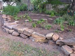Rock Borders For Gardens Rock Garden Edging Wonderful Rock Borders Flower Beds With Rock