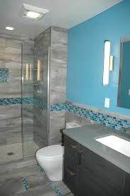 Blue And Green Kids Bathrooms Contemporary Bathroom by Msi Tile For A Contemporary Bathroom With A Iridescent Tile And