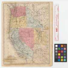 Arizona California Map by California Oregon Idaho Utah Nevada Arizona And Washington