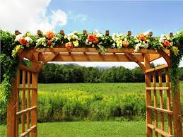 wedding arches rustic declare the wedding promise wedding arbor criolla brithday