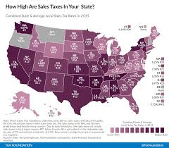 sales tax table 2016 state and local sales tax rates in 2015 tax foundation
