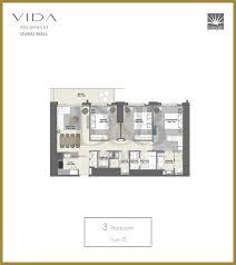 vida residences dubai mall d u0026b properties