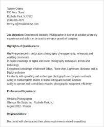 Freelance Photographer Resume Examples Sample Photographer Resume Commercial Photographer Resume Sample