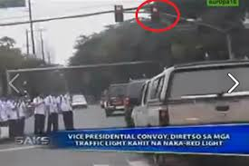 beating the red light binay convoy you tube there lies an arrogant public official