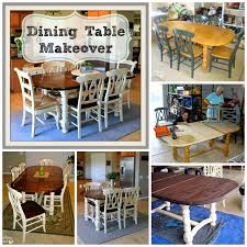 Paint Dining Room Chairs by Farmhouse Style Table Makeover For 20 How We Did It And