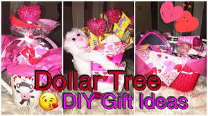 Valentine S Day Tree Decor by Dollar Tree Diy Last Minute Valentines Day Gift Ideas Youtube