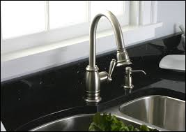 the way to clean moen brushed nickel kitchen faucet image of brushed nickel kitchen faucet