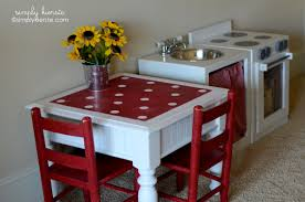small play kitchen table drab to fab play kitchen table top best