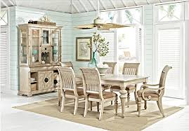 Rooms To Go Dining Table Sets by Cindy Crawford Home Key West Sand 5 Pc Rectangle Dining Room With