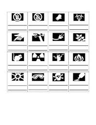 science safety symbol bingo by breda science and history tpt