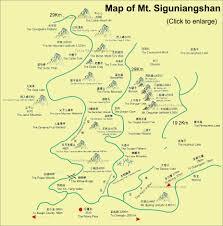 Mountain Time Zone Map by Aba Mt Siguniangshan Four Maiden U0027s Mountain Sichuan