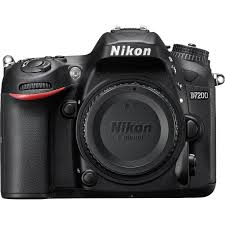nikon d7200 dslr camera nikon d7200 body 1554 b u0026h photo video
