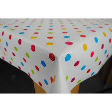 red white polka dot table covers 51coty4hvtl sl500 ac ss350 shop polka dot table cloth easy wipe