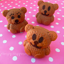 sweet little caramel chocolate fudgy bears hungry happenings