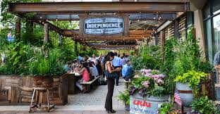 independence beer garden philadelphia usa groundswell design