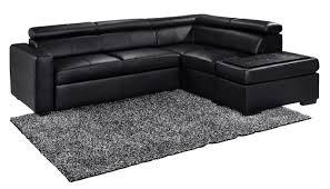 canapé d angle droit convertible canapé d angle droit convertible simili noir balto lestendances fr
