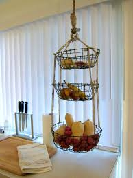 Curtain Wire Target Accessories Agreeable Diy Hanging Produce Baskets Kitchen Wall