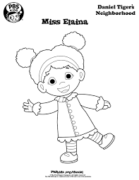 tiger coloring pages daniel tiger birthday party pbs parents
