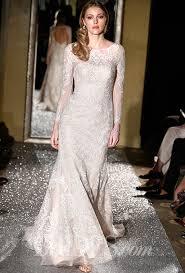 oleg cassini wedding dress oleg cassini fall 2015 wedding dress illusion neckline and