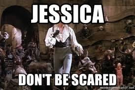 David Bowie Labyrinth Meme - jessica don t be scared david bowie labyrinth meme generator