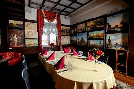 the cigar lounge at ambassador hotel in st petersburg russia