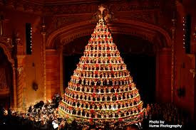 Singing Christmas Tree Lights The Singing Christmas Tree