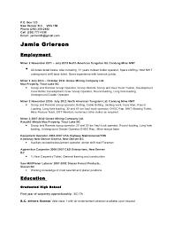 Short Resume Sample by A Short Resume Letter Short Resume Format How To Write A Short
