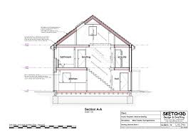 building a house from plans section long through new build house return top home plans