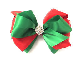 christmas hair bows pink bowtique pinkbowtique christmas hair bows
