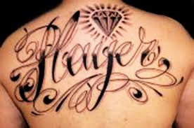 current tattoo trends involving lettering custom fonts poems and