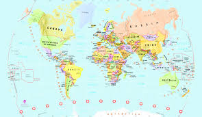 Detailed World Map Childrens World Map Wall Mural U0026 Childrens Detailed Map Wallpaper