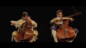 2cellos thunderstruck official video coub gifs with sound