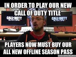 New Meme Order - order to play our new call of duty title