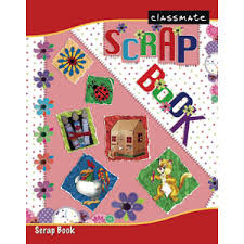 classmate book classmate scrap book with soft cover pgs 32 there is no child