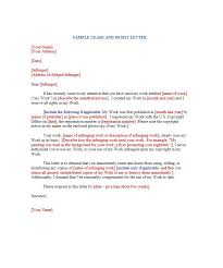 30 cease and desist letter templates free template lab