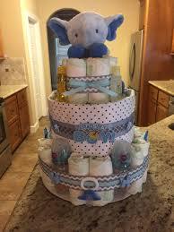 elephant diaper cake casey u0027s creations pinterest elephant